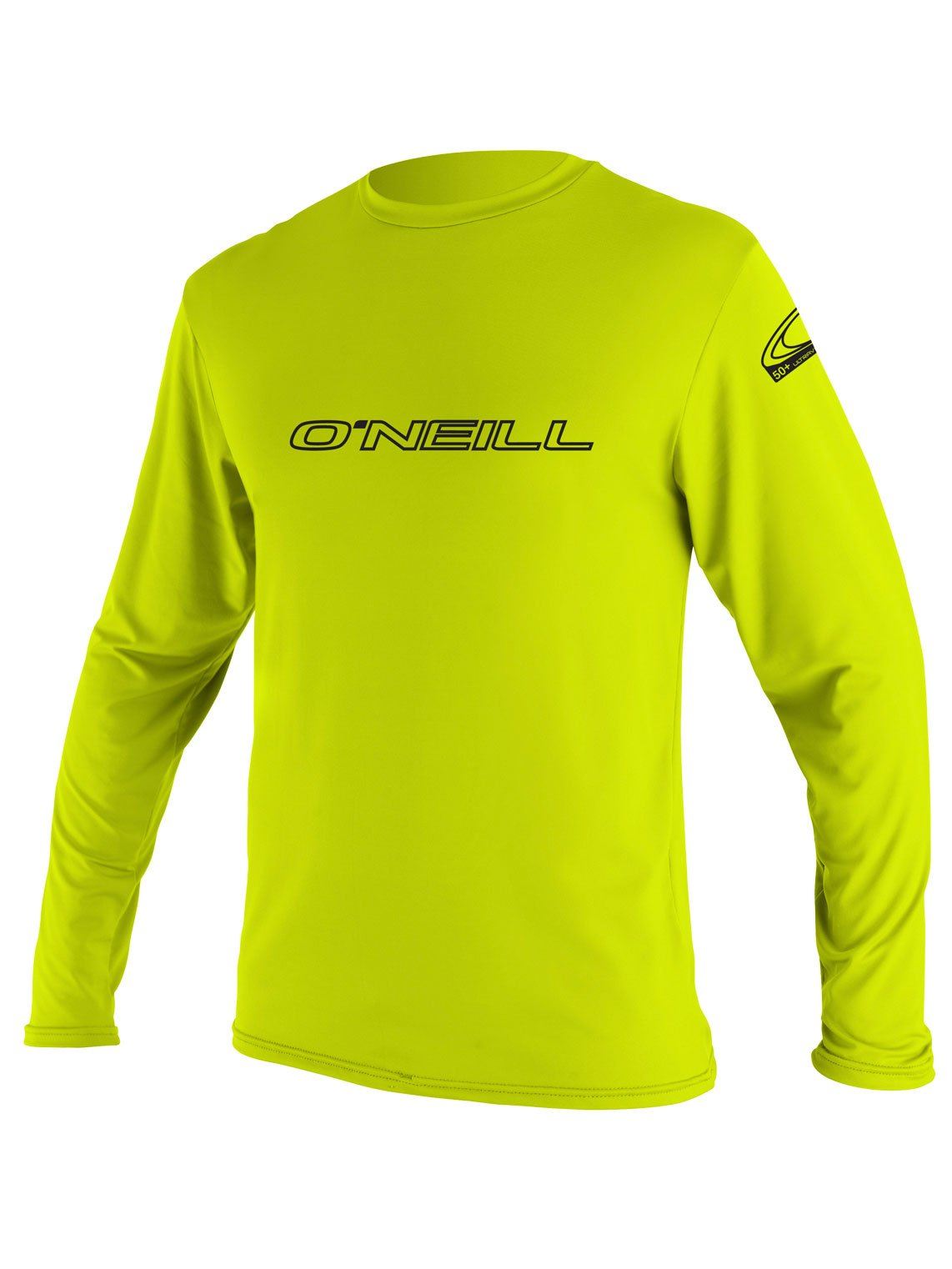 O'Neill Youth Basic Skins UPF 50+ Long Sleeve Sun Shirt, Lime, 6