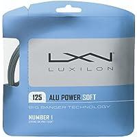 Wilson LUXILON Big Banger ALU Power Soft 125 - Cuerda de Tenis (Calibre 16 L), Color Plateado