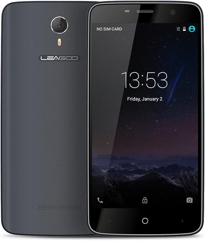 LEAGOO Elite 6 4G LTE Smartphone Android 5.1 64bits Quad Core MTK6735M 4.5