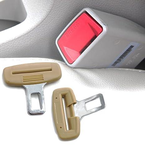 offrire sconti sito web per lo sconto prezzo basso Boonor 2x Cinture di sicurezza Ganci anti allarme sonoro per cintura di  sicurezza in macchina, gancio anti suono bip per auto