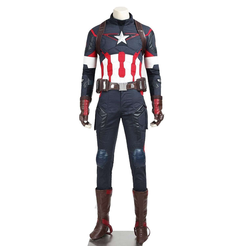 Men's Captain America: Age of Ultron Costume - DeluxeAdultCostumes.com