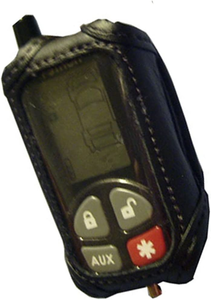 Leather Remote Cover Case for Python 2-Way Remote Control Models 479P 7341P /& 7701P 489P