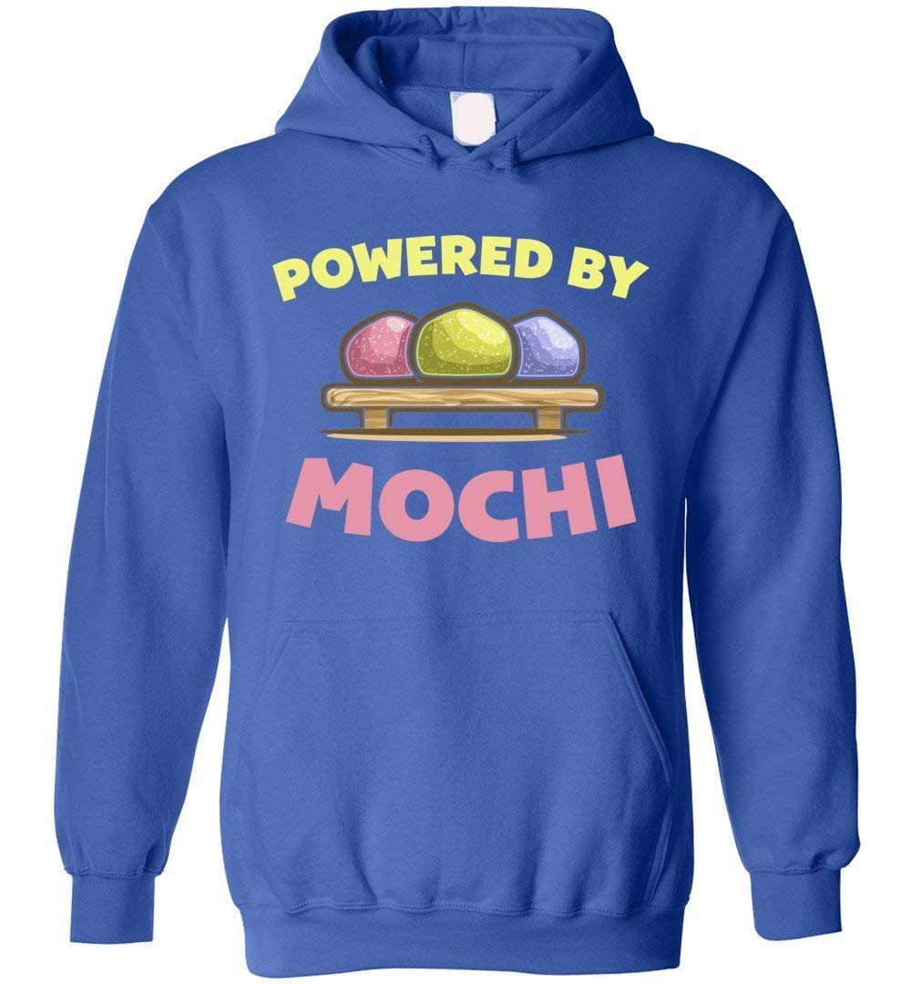 Powered by Mochi Strawberry & Green Tea Ice Cream Hoodie by eden tee