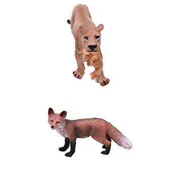 Animal Figure Plush Lowrie Model Toy for Baby Room Decoration Birthday Gifts