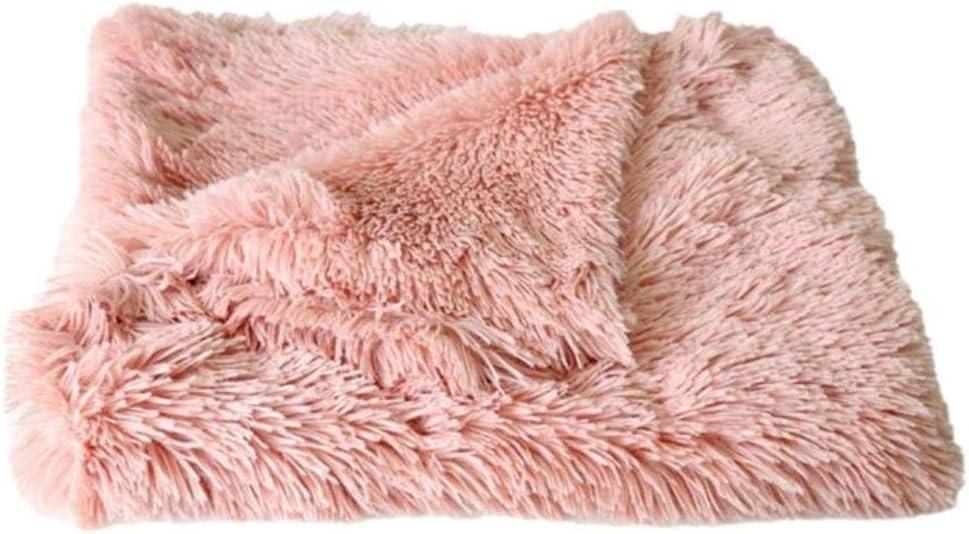 Cuccia Fluffy Soft Flanella Coperta Per Cani Tappetino Per Cani Tappetino Caldo Materasso In Peluche Cuscino Per Cani Per Gatti Tappeto Per Dormire Letto Per Cani Di Taglia Medio Piccola 56X36 Nero