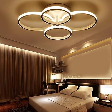 LED Lámpara de techo moderna,ONLT LED Iluminación de techo ...