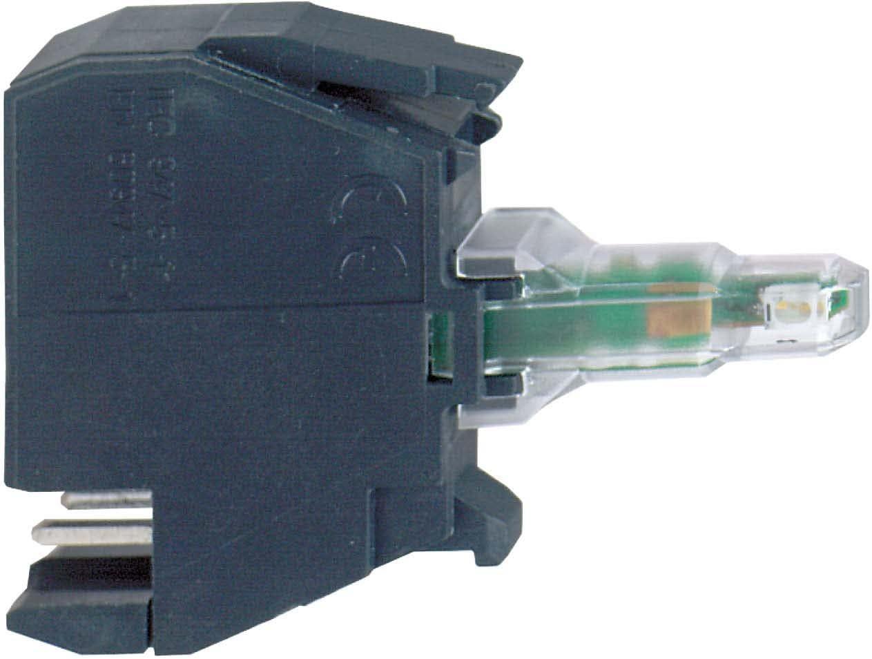 Schneider elec pic - mss 40 17 - Bloque luminoso diámetro 22 24v azul conector