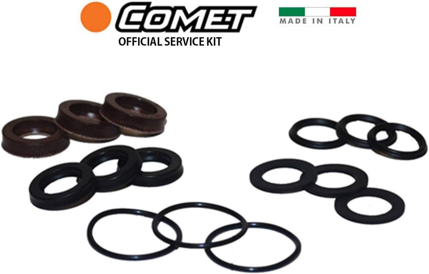COMET AX SERIES WATER SEAL KIT UP TO 2400 PSI  # 5019.0077.00