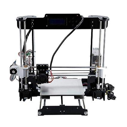 Impresora 3D con filamento incluido, boquilla extruida de 0,4 mm ...