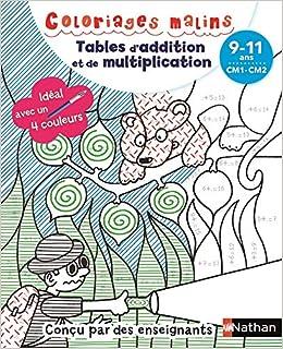Coloriages Malins Bic Tables D Addition Et De