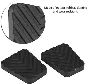 2Pcs Dibiao Couvercle de caoutchouc de p/édale de frein dembrayage pour hyundai Accent Elantra Scoupe Tiburon Getz 3282524000