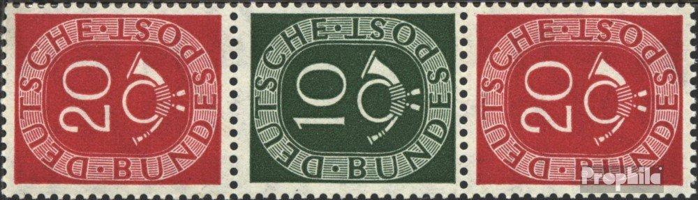 Prophila Collection RFA (RFA.Alemania) s10 1951 corneta de posta (sellos para los coleccionistas)