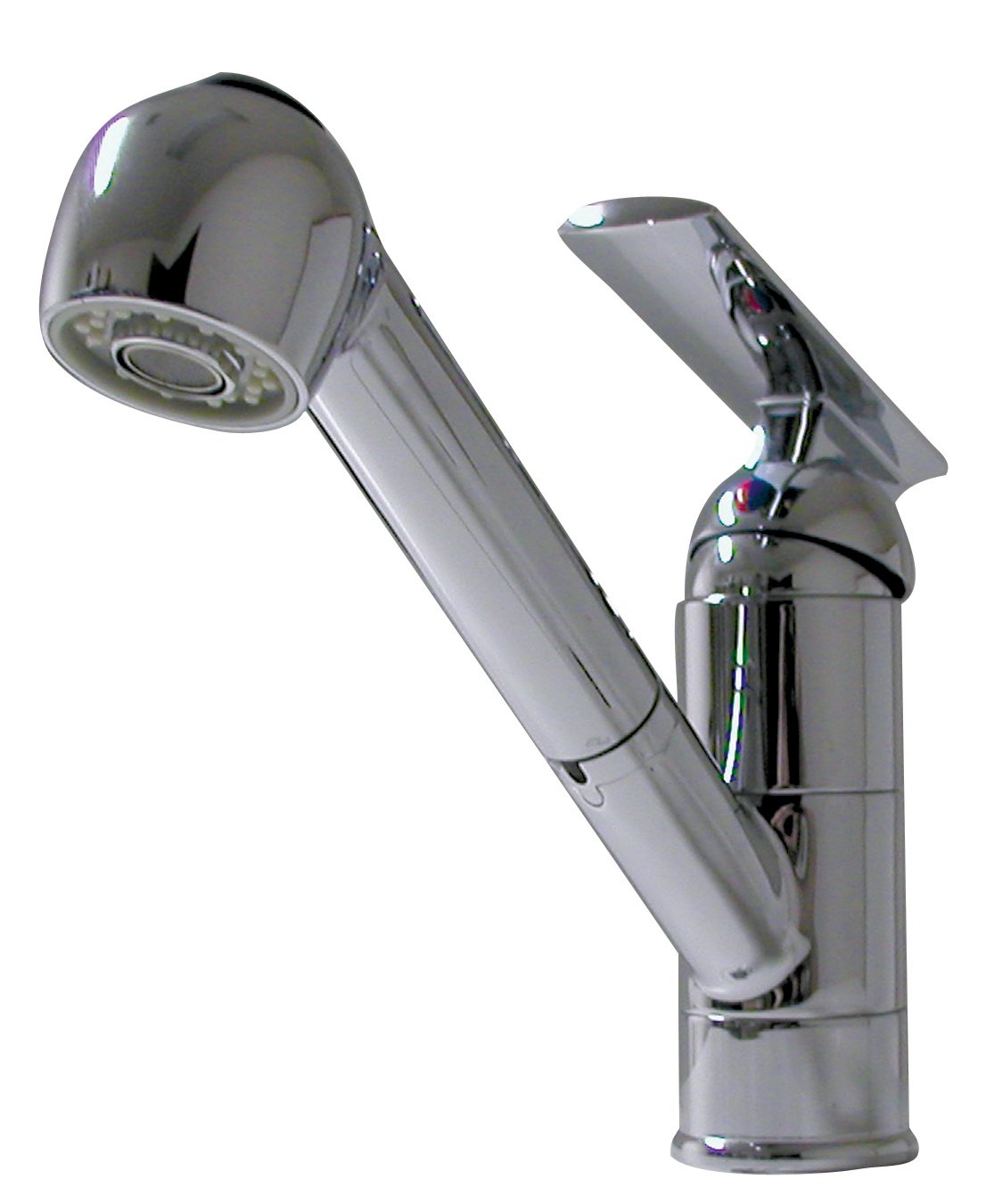 ITC (97810R-CH-DB Chrome Single Galley Lever Faucet with Pull-Out Sprayer