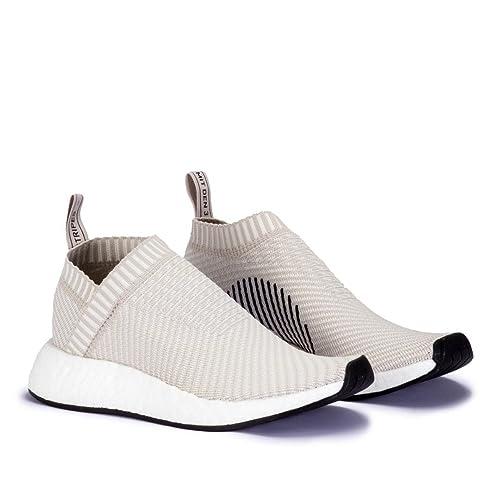 Adidas NMD_CS2 Primeknit Crema - Zapatillas Mujer: Amazon.es: Zapatos y complementos