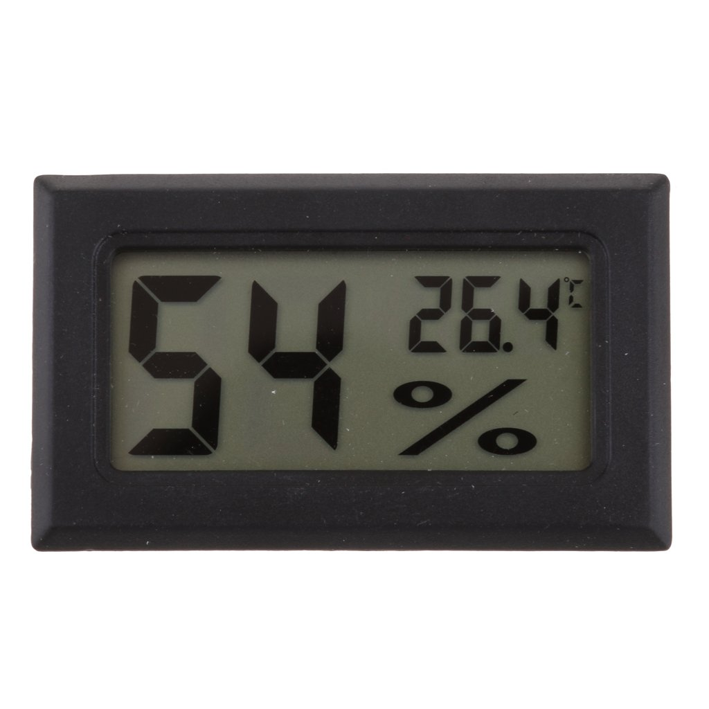 D DOLITY LCD Digital Thermometer Hygrometer Temperature Humidity Meter
