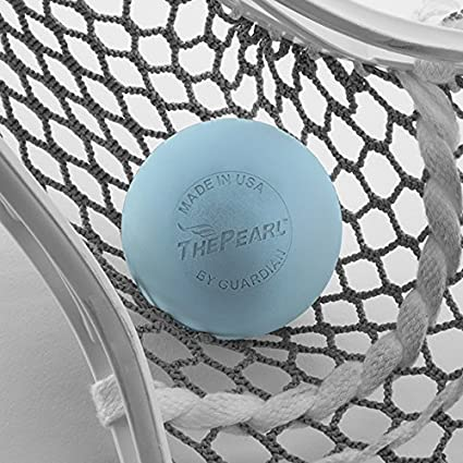 - Official Ball of US Lacrosse /& Team USA Guardian Innovations The Pearl Greaseless Lacrosse Balls White, Yellow /& Orange - Meets NOCSAE Standards and SEI//NCAA//NFHS Certified; Blue No-Bounce - Practice