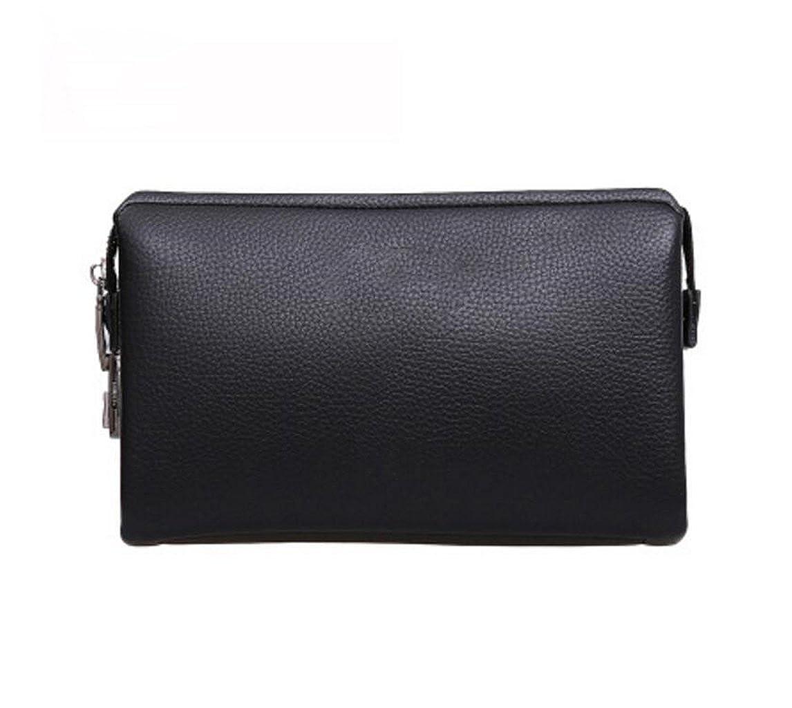 GHGJU Herren Clutch Bag Sicherheitsschloss Leder Brieftasche große Kapazität Handtasche B07JGKD3DT Herrentaschen