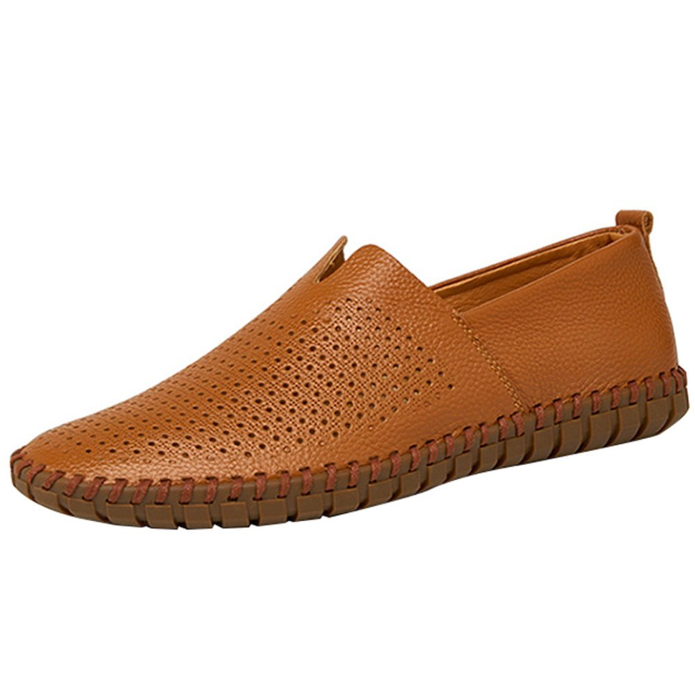 ec82ab11295100 AHELMET Männer Casual Komfortable Komfortable Komfortable Atmungsaktive  Faule Schuhe Segelschuhe Sandalen Fahren Schuhe Vier Jahreszeiten Lofo  Schuhe (Farbe ...