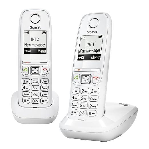 138 opinioni per Gigaset AS405 Duo Telefono Cordless DECT/GAP, Bianco [Francia]