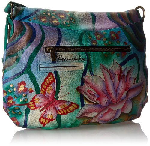 Large Garden Flap Anuschka Over Convertible LL Zebra 0SdqHz