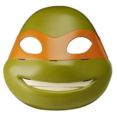 Teenage Mutant Ninja Turtles Michelangelo Electronic Mask: Toys & Games