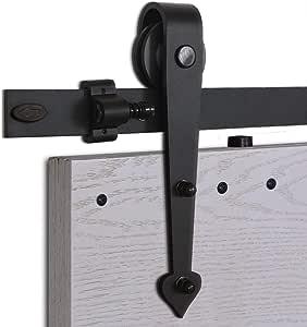 CCJH 8.2FT-250cm Herraje para Puerta Corredera Kit de Accesorios ...
