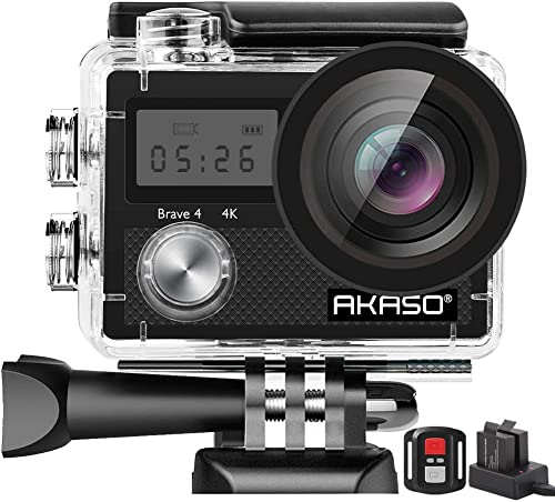 AKASO Brave 4 best GoPro Alternative