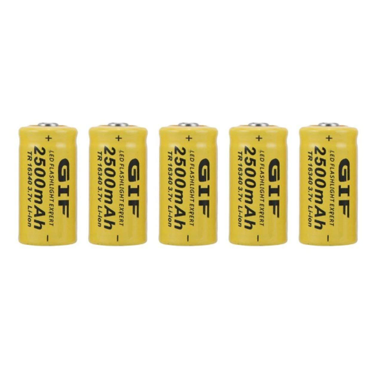 Recargable kit de baterías para la cámara de Netgear Arlo Seguridad - paquete de 20 baterías,amarillo: Amazon.es: Bebé