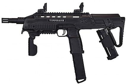 Amazon Com Tippmann Tcr Magfed Tactical Cqb Paintball Gun Black