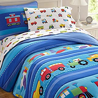 Wildkin Twin Comforter Set, Trains Planes & Trucks (B00MYL86EU) | Amazon Products