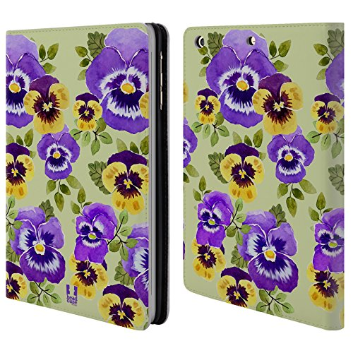 - Head Case Designs Pansies Watercolour Flowers 2 Leather Book Wallet Case Cover for iPad Mini 1 / Mini 2 / Mini 3