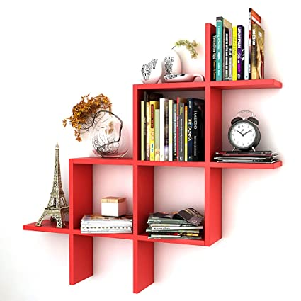 Amazon Com Bookshelf Book Stand Solid Wood Partition Wall