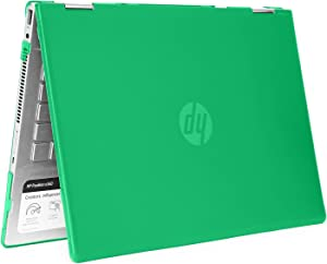 "mCover Hard Shell Case for 14"" HP Pavilion X360 14-CDxxxx / 14-DDxxxx Series Convertible 2-in-1 laptops (Green)"