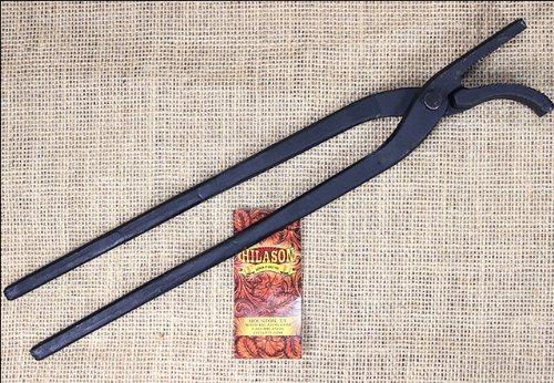 - HILASON 13-1/2 INCHES Western TACK Horse Standard Nail CLINCHERS Black