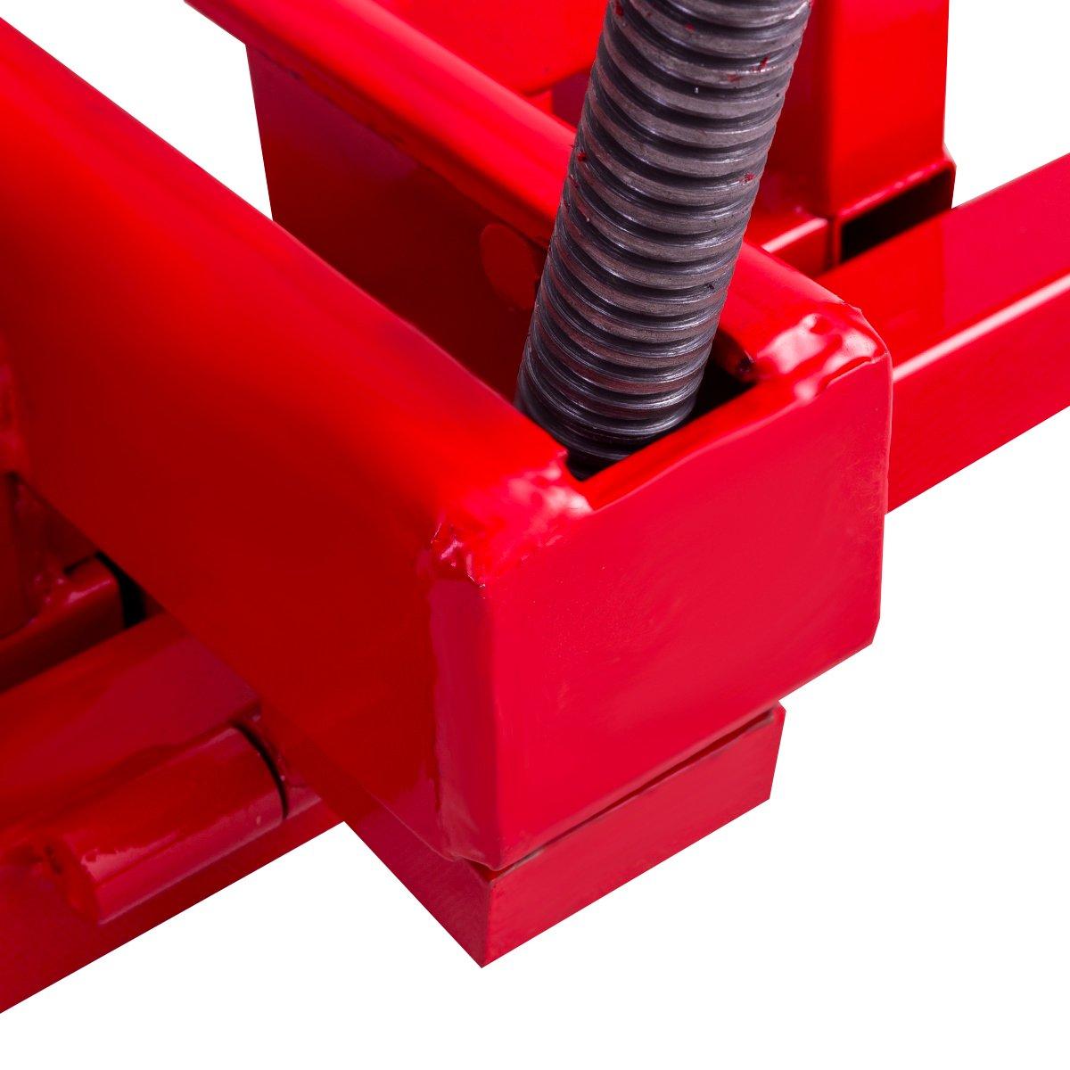 COSTWAY Dispositivo Elevador Tractores Plataforma Elevadora para ...
