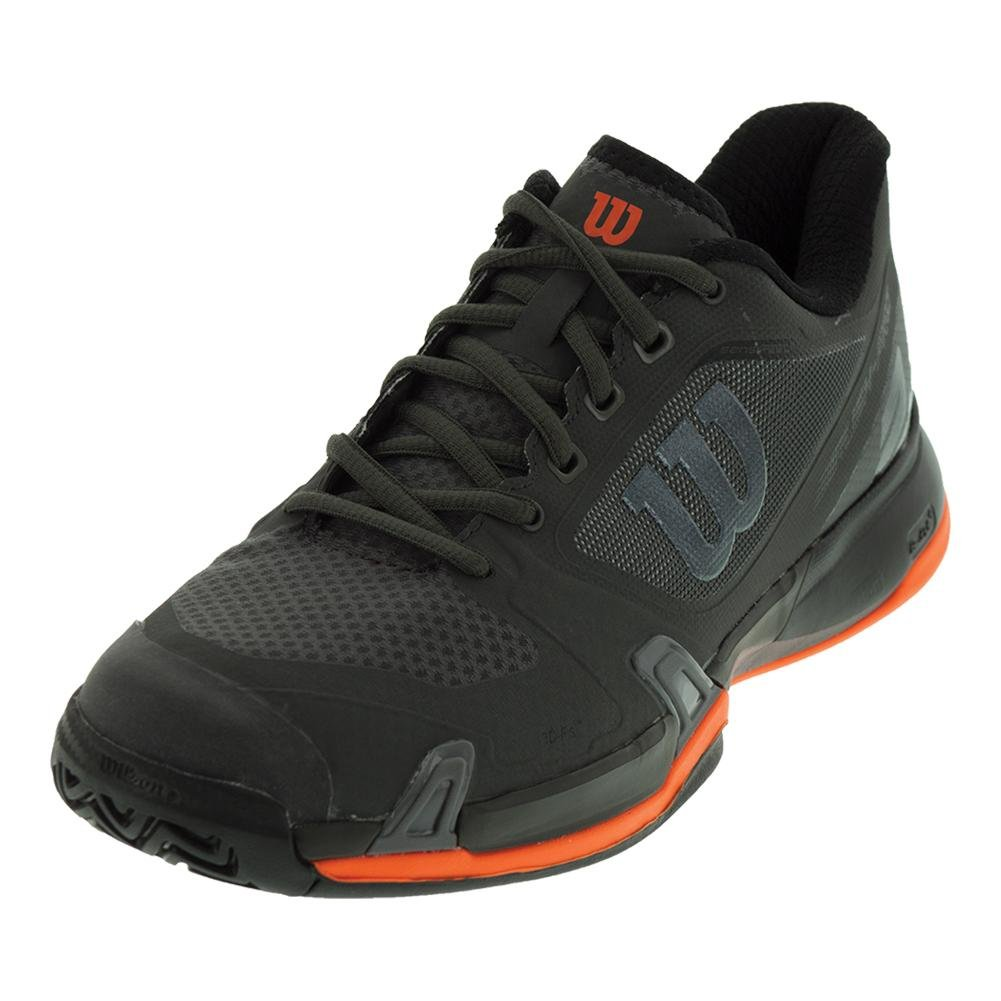 [ウイルソン] テニスシューズ WRS322630U070 B077J3TVFL 14 D(M) US Magnet/Black/Shocking Orange