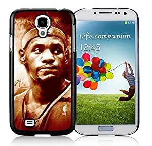 New Custom Design Cover Case For Samsung Galaxy S4 I9500 i337 M919 i545 r970 l720 Cleveland Cavaliers Lebron James 13 Black Phone Case Kimberly Kurzendoerfer