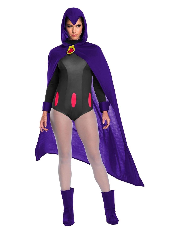 Amazon.com: Teen Titans Raven - Disfraz de mujer, L, Púrpura ...