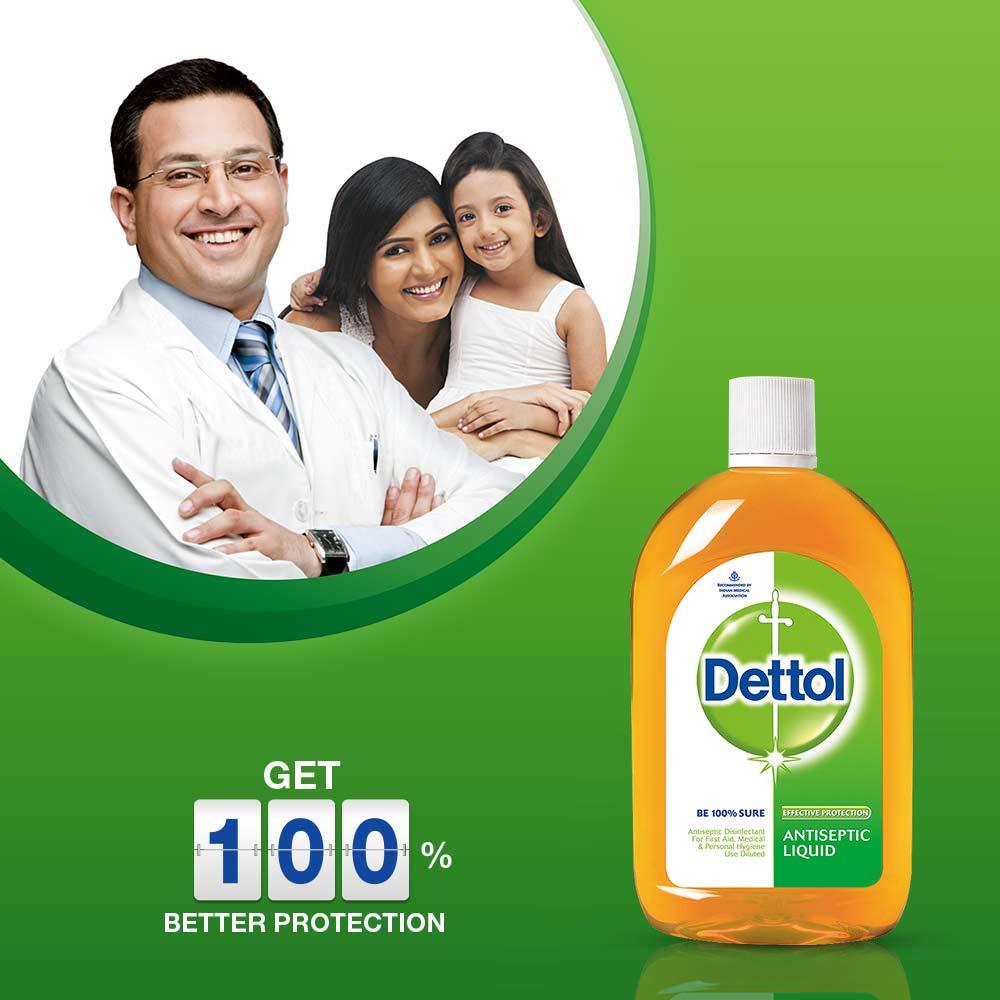 Dettol Antiseptic Liquid 169 Oz 500 Ml Beauty 100