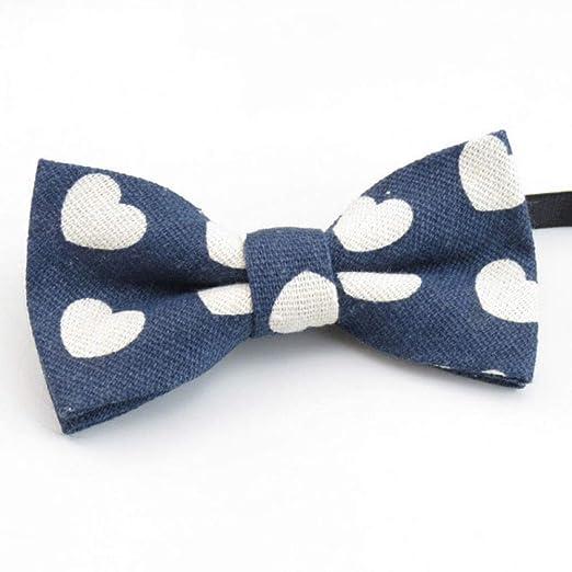 WIFSBR Corbata de moño Bowtie Moda Boda Esmoquin Corbata ...