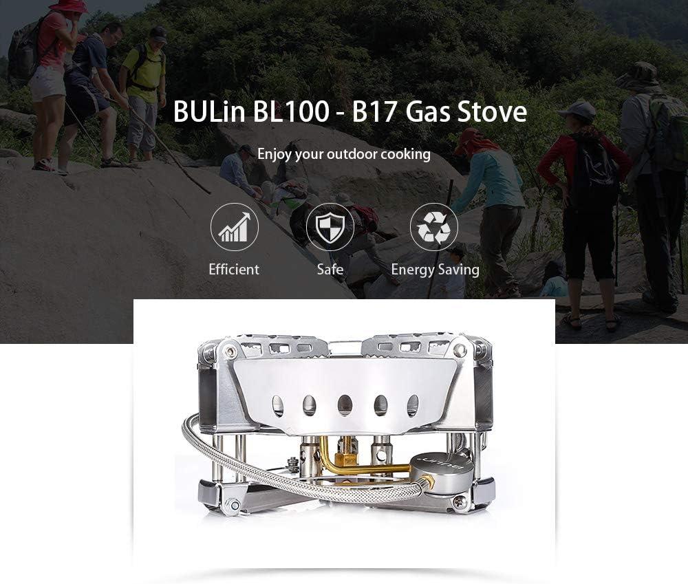 IDS Home BULIN BL100 B17 - Estufa de Gas portátil para ...