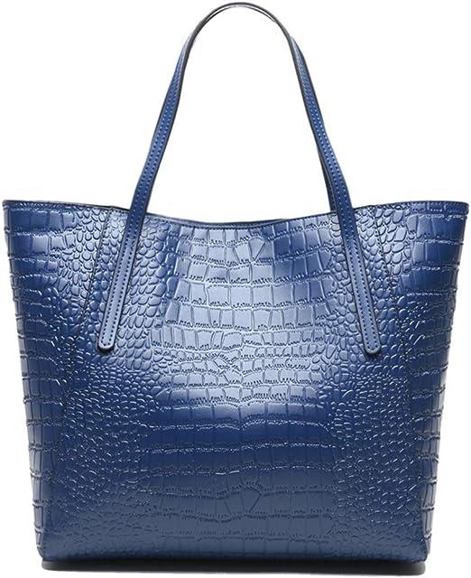 Xzwzhqxs Bolso al Hombro para Mujer Azul Marino: Amazon.es