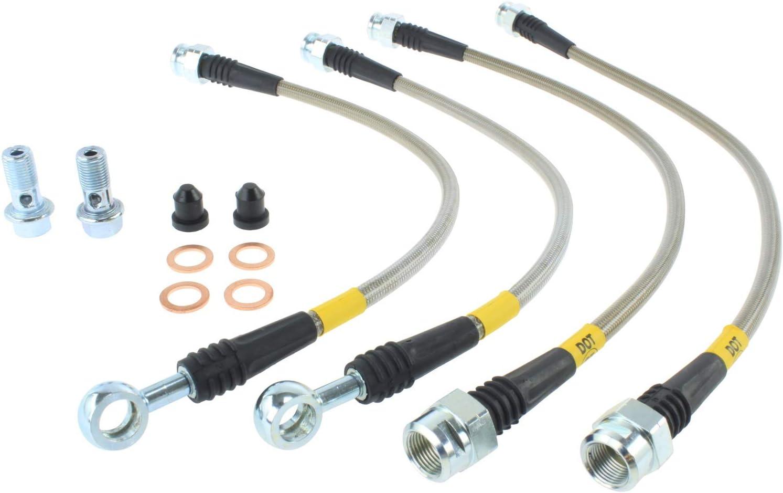 950.66502 Stoptech Stainless Steel Brake Line Kit