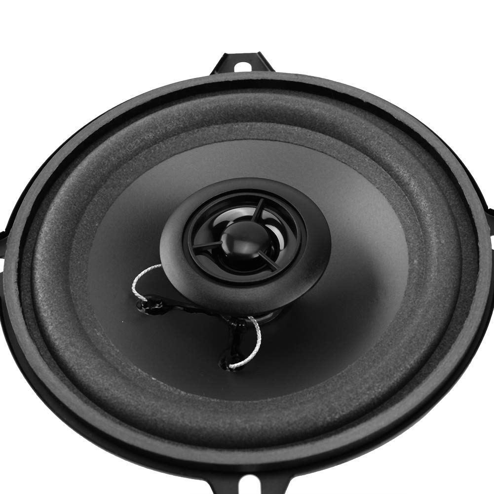 Black,1 Pair EBTOOLS 5 Inch Light Weight and Wide Frequency Range Car Audio Coaxial Speakers