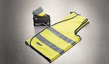 Gelb 2-teiliges Set 82262288693 BMW Reflektierende Warnweste