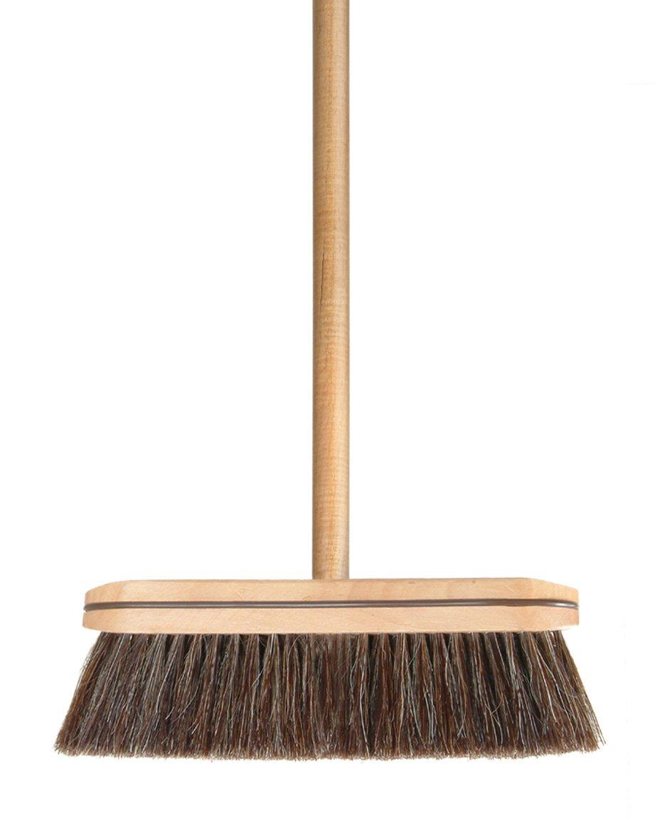 amazon com superior wooden horsehair broom home u0026 kitchen