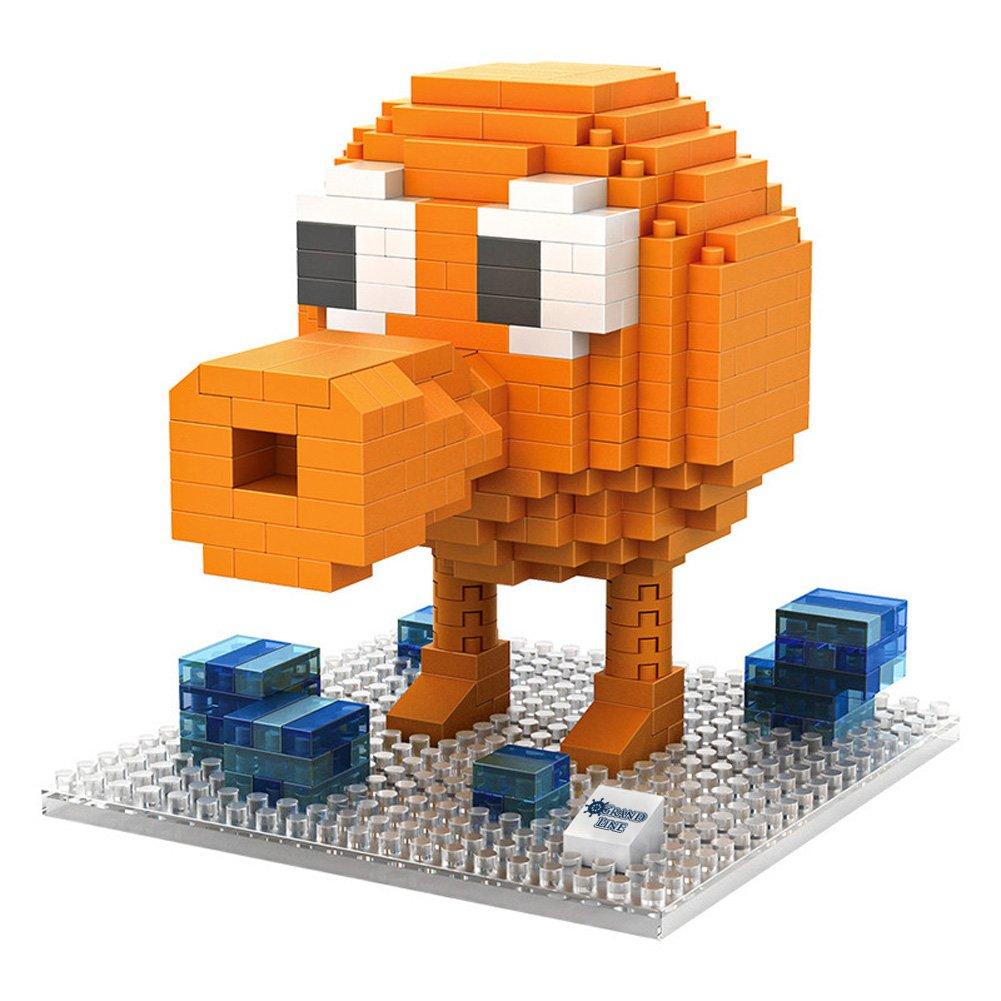 Amazon.com: LOZ Diamond Block Arcade Game Series Q-bert 9618 (380pcs): Toys  & Games