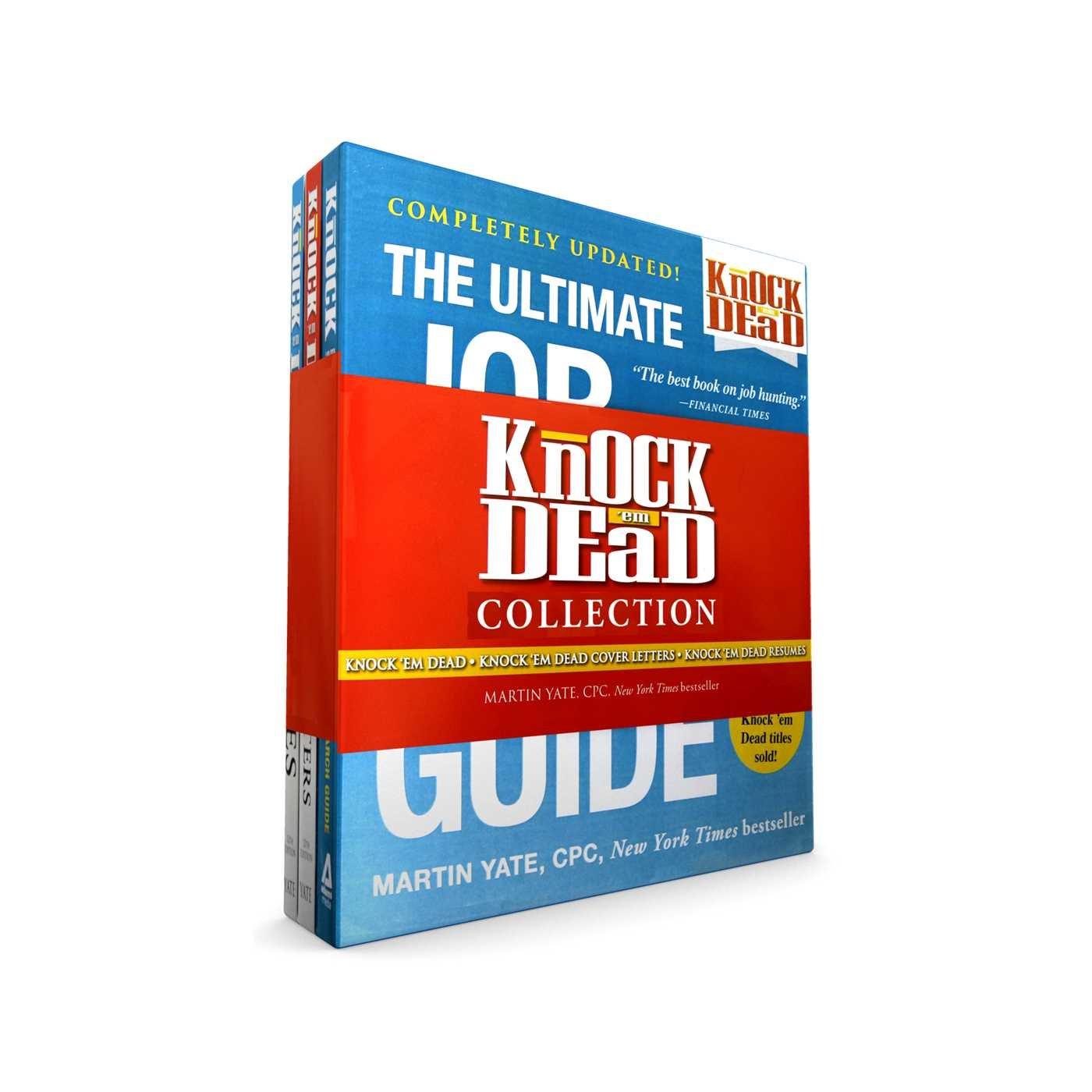 Knock U0027em Dead Collection: Knock U0027em Dead; Knock U0027em Dead Cover Letters;  Knock U0027em Dead Resumes: Martin Yate CPC: 9781507206775: Amazon.com: Books