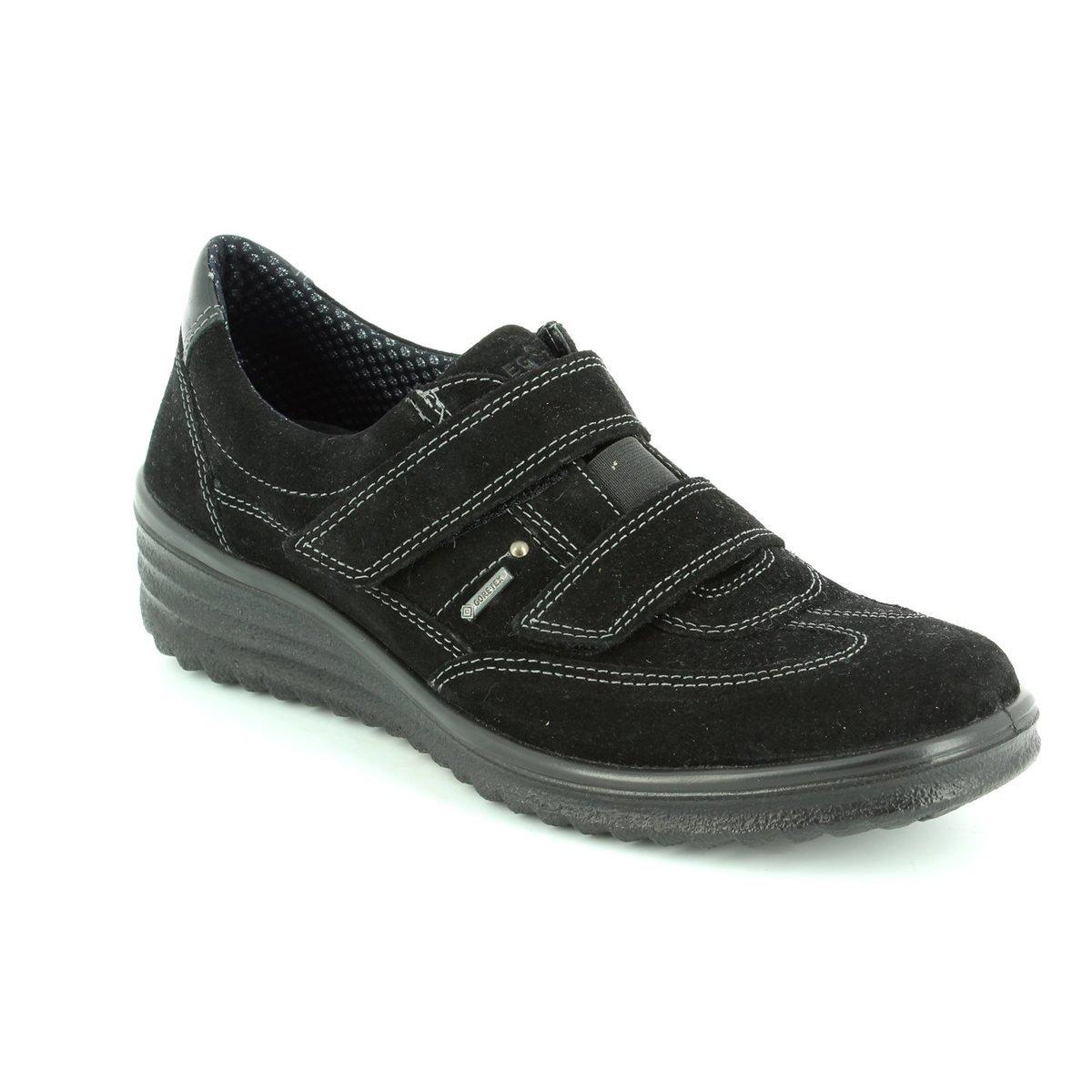 Legero Damen Slipper Damen Klettschuh GTX 565-00 schwarz 198969  | Sorgfältig ausgewählte Materialien  | Hat einen langen Ruf