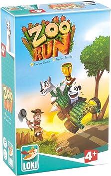 Lúdilo-Zoo Run Loki, Mesa para niños, cooperativo, Juegos ...